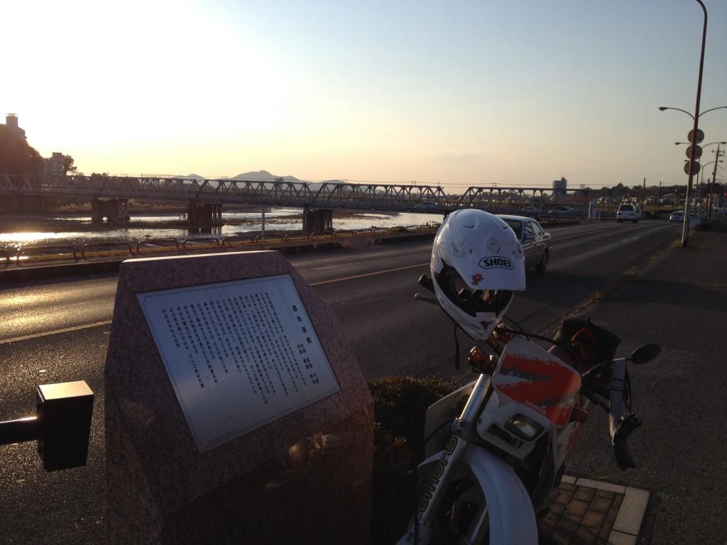 渡良瀬橋・歌碑